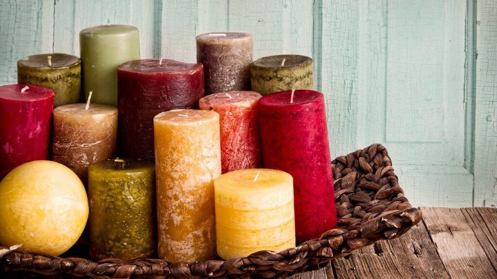 Декоративные свечи своими руками Как сделать свечу своими руками 1024x576