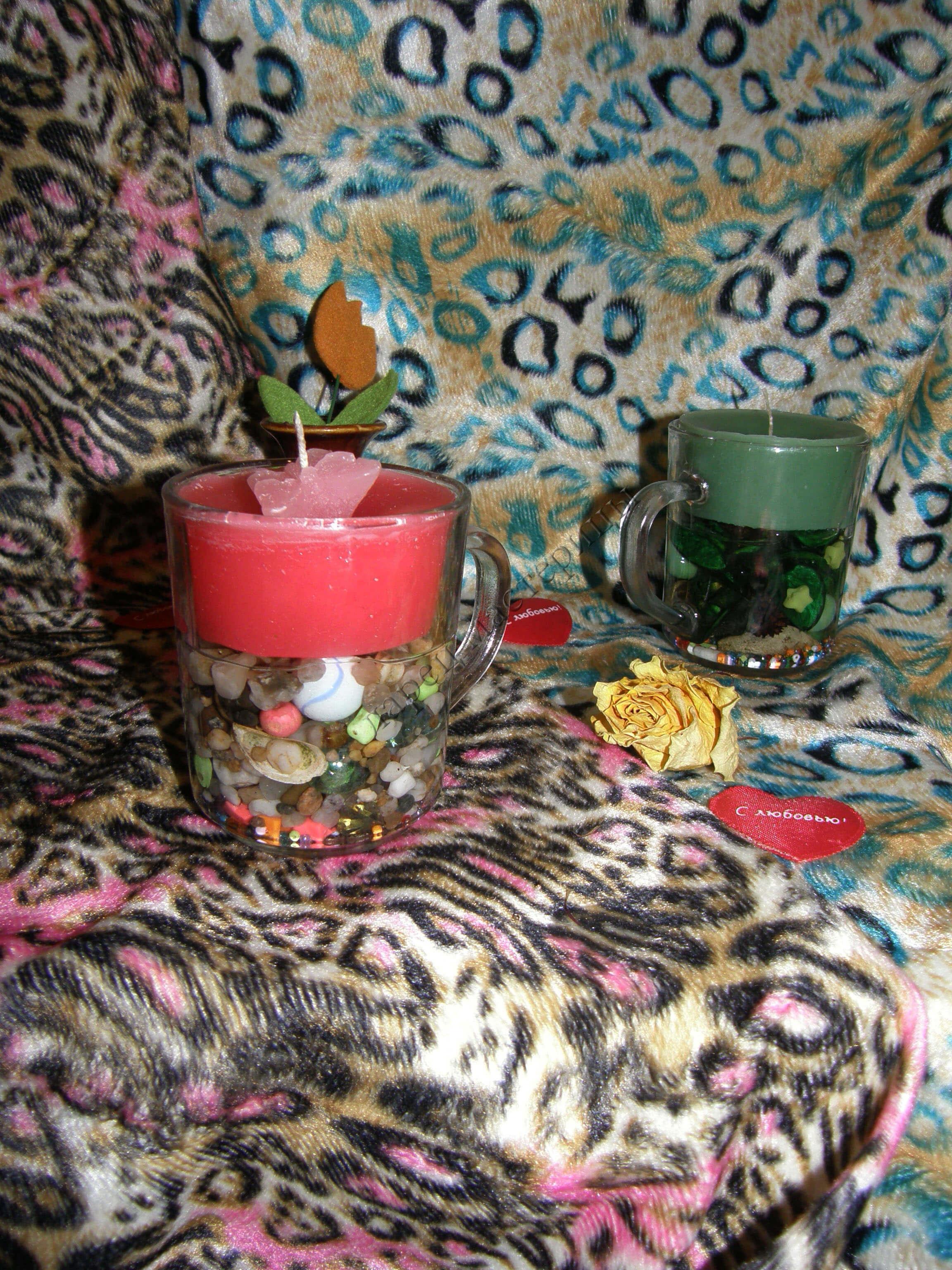 Декоративные свечи своими руками svecha1