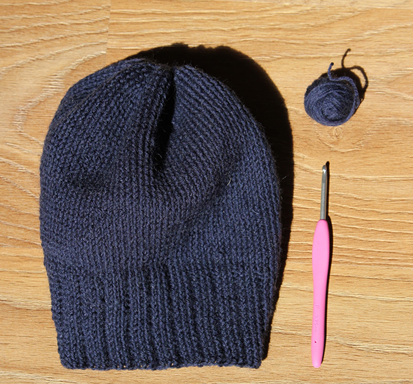 мастер класс по вязанию шапки бини