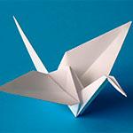 Как сделать журавлика оригами из бумаги своими руками