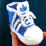 Крутые пинетки «Адидас» для вашего малыша
