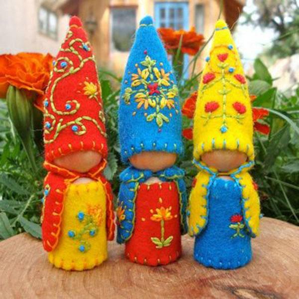 Симпатичные гномики на Новый год своими руками nogodniy gnom 14