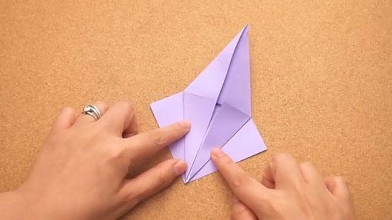 Как сделать журавлика оригами из бумаги своими руками origami zhuravlik iz bumagi 10
