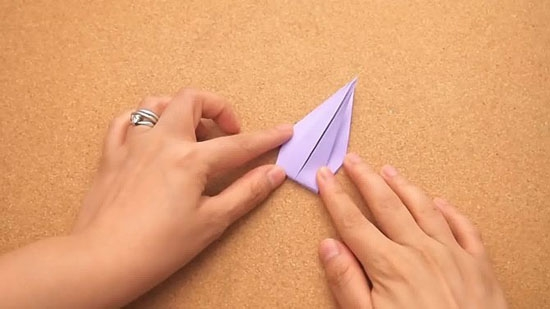 Как сделать журавлика оригами из бумаги своими руками origami zhuravlik iz bumagi 14