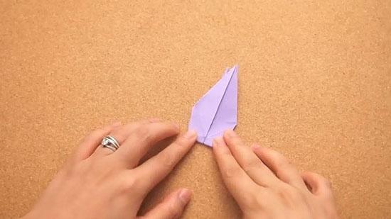 Как сделать журавлика оригами из бумаги своими руками origami zhuravlik iz bumagi 15