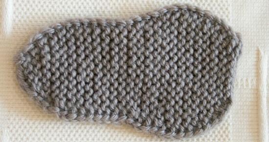 Пинетки ботиночки спицами с пошаговым описанием вязания и схемами
