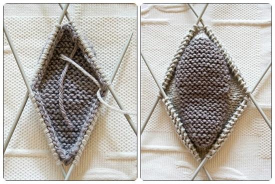 Пинетки ботиночки спицами с пошаговым описанием вязания и схемами pinetki botinochki spicami 3