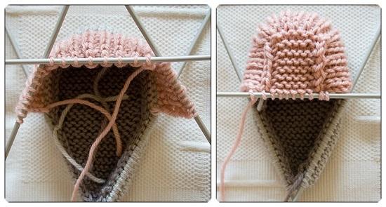 Пинетки ботиночки спицами с пошаговым описанием вязания и схемами pinetki botinochki spicami 6