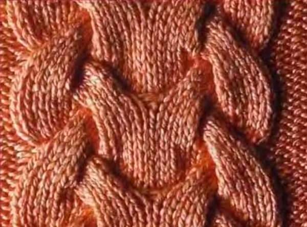 Жгуты (косы) спицами: схема и описание zhguty spicami 5