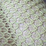 Узор «Листья» спицами: схема и описание вязания ажурных элементов