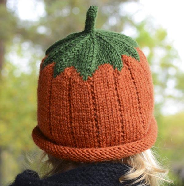 Забавная шапочка Тыковка: теплый аксессуар для вашего ребенка детская шапка Тыковка спицами 3