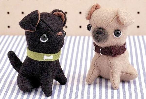 Шьем собаку из ткани своими руками сшить собаку 2