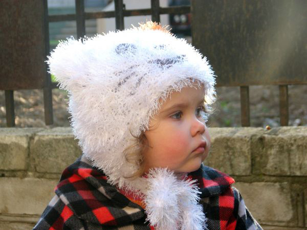 Шапка травка спицами: вяжем пушистый головной убор для девочки шапка травка спицами для девочки 1