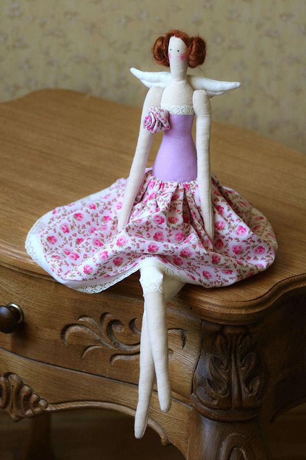 Кукла тильда в новогоднем стиле: секреты изготовления 10 2