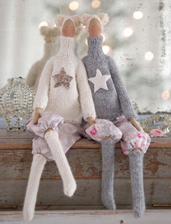 Кукла тильда в новогоднем стиле: секреты изготовления 3 2