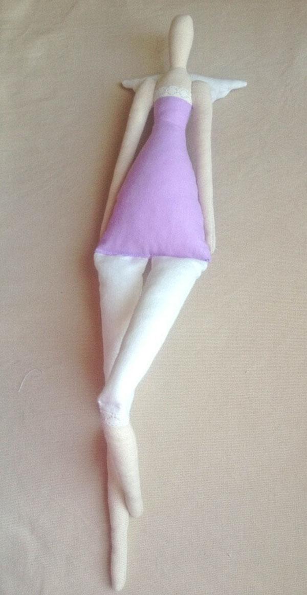 Кукла тильда в новогоднем стиле: секреты изготовления 39