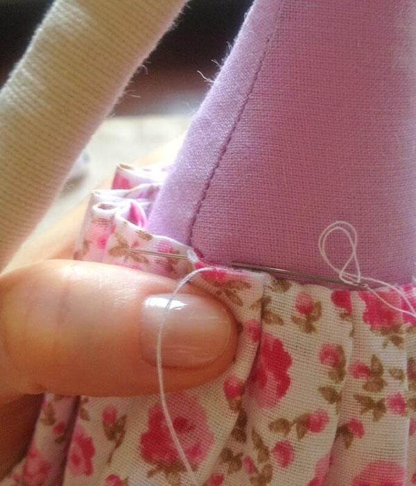 Кукла тильда в новогоднем стиле: секреты изготовления 43