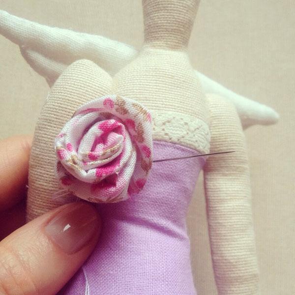 Кукла тильда в новогоднем стиле: секреты изготовления 51