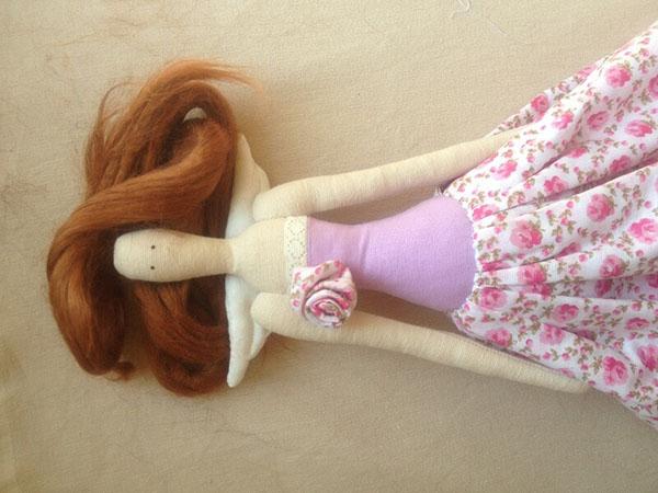 Волосы для кукол тильды своими руками 739