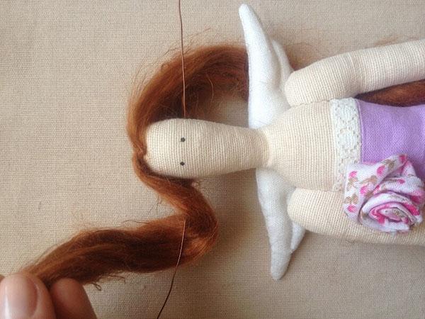 Кукла тильда в новогоднем стиле: секреты изготовления 59