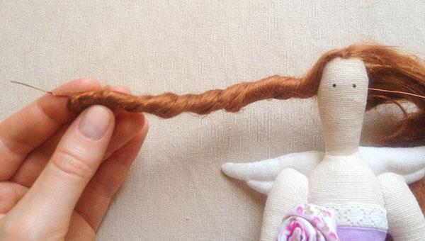 Кукла тильда в новогоднем стиле: секреты изготовления 60