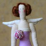 Кукла тильда в новогоднем стиле: секреты изготовления