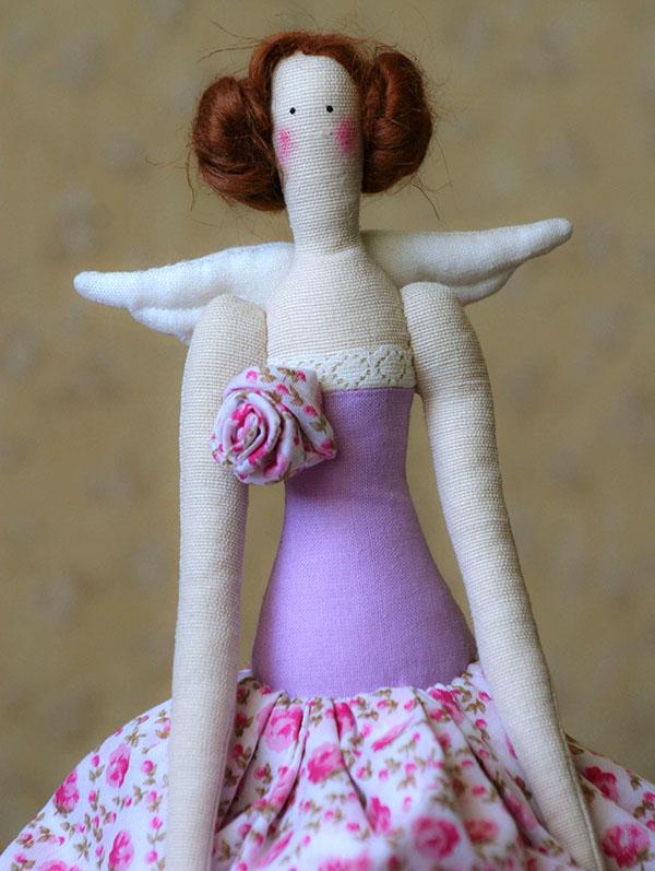 Кукла тильда в новогоднем стиле: секреты изготовления 64