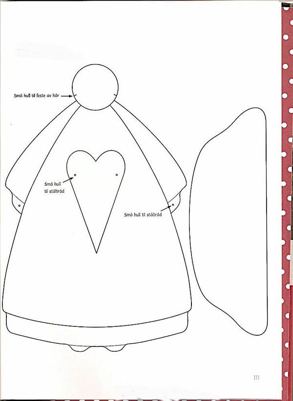Кукла тильда в новогоднем стиле: секреты изготовления 7 2