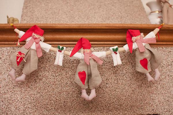 Кукла тильда в новогоднем стиле: секреты изготовления 9 1