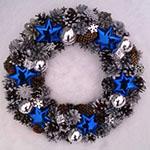 Новогодний венок из шишек: пошаговый мастер класс