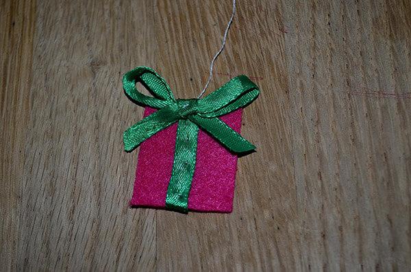 Рождественский сапожок из фетра своими руками sapozhok 7