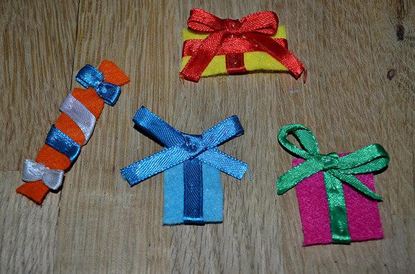 Рождественский сапожок из фетра своими руками sapozhok 8