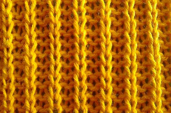 Английская резинка спицами: варианты вязания с описанием анлийская резинка спицами 12