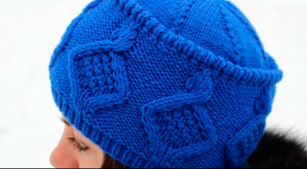 Вязаная спицами шапка Кубанка для женщин: подробное описание шапка кубанка спицами 4