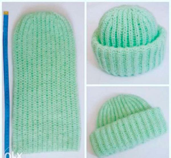 Вязаная шапка такори спицами описание