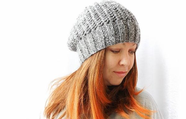 Шапка чулок спицами для начинающих шапка чулок спицами для женщин 1