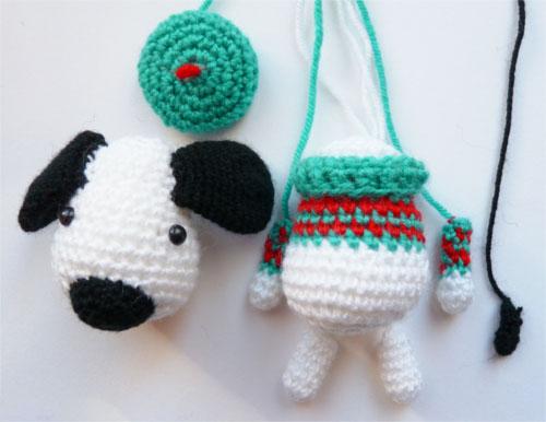 Собака амигуруми крючком: пошаговое описание вязания dog amigurumi 2