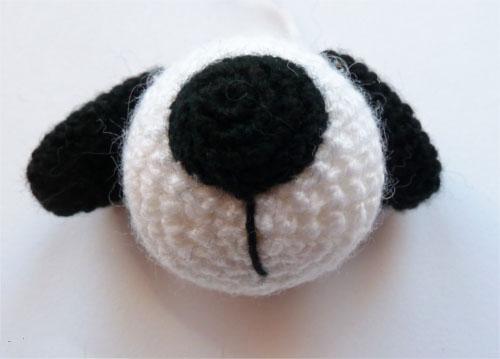 Собака амигуруми крючком: пошаговое описание вязания dog amigurumi 5