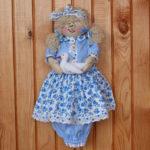 Кукла-пакетница из капрона: наводим порядок на кухне