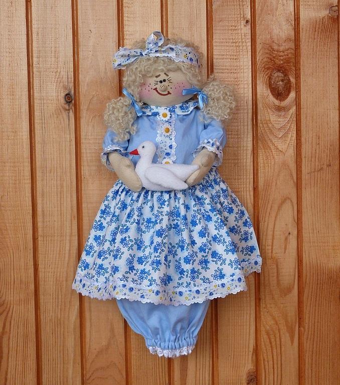 Кукла пакетница из капрона: наводим порядок на кухне kukla paketnitca 1