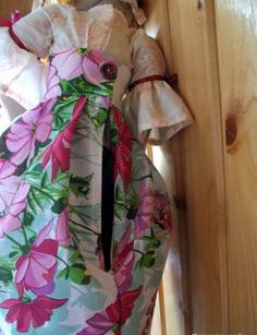 Кукла пакетница из капрона: наводим порядок на кухне kukla paketnitca 11