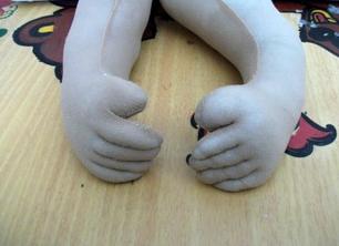 Кукла пакетница из капрона: наводим порядок на кухне kukla paketnitca 6