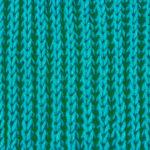 Полупатентная резинка спицами.: схема вязания