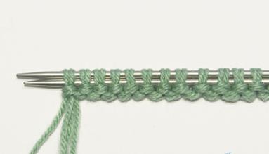 Крестообразный набор петель спицами 6 5