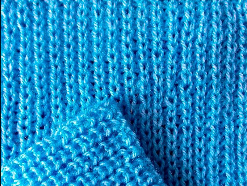Полупатентная резинка спицами.: схема вязания maxresdefault