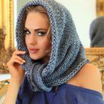 Шарф-хомут спицами: вяжем модный асессуар