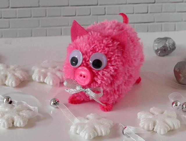 Мягкая игрушка Поросенок: символ года 2019 своими руками 1 2