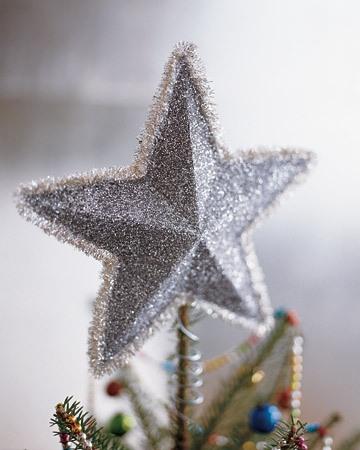Объемная звезда из бумаги на Новый год 1 6