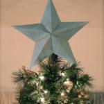 Звезда на елку из бумаги: мастер класс
