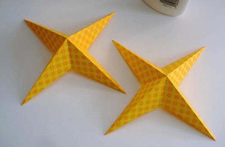 Рождественская звезда из бумаги своими руками 11 7
